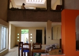sala comedor doble altura